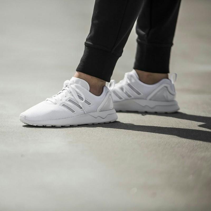 adidas zx flux hommes blanche