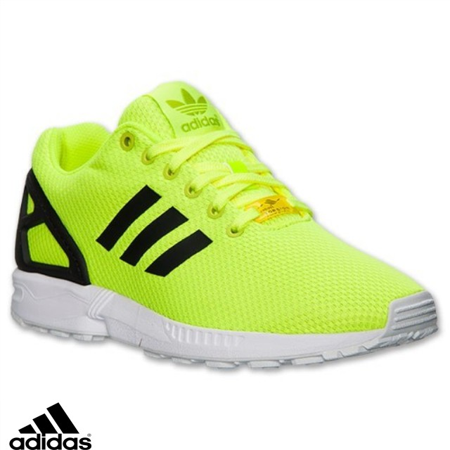 regarder 8439e 4f2ca adidas zx flux jaune pas cher
